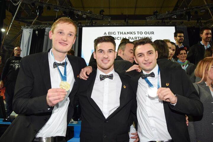 EuroSkills 2016 - Nationalteam Deutsches Baugewerbe