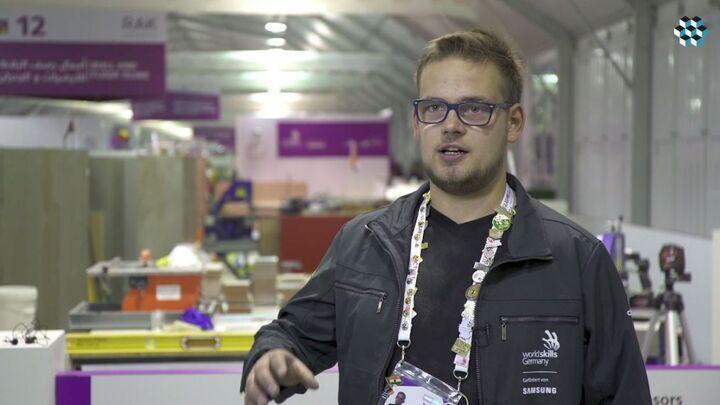WorldSkills 2017 - Wettbewerb der Fliesenleger