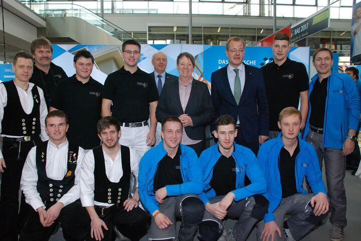 Das Nationalteam trainierte für die WorldSkills 2015