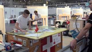 WorldSkills 2013 - Wettbewerb der Fliesenleger