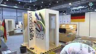 WorldSkills 2013 - Wettbewerb der Stuckateure und Trockenbauer