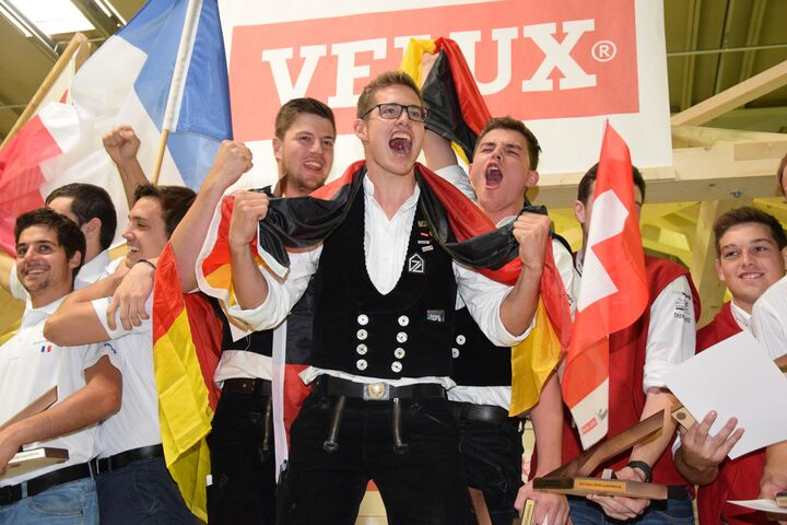 Nationalmannschaft wurde bei der Zimmerer-EM zum vierten Mal Europameister.