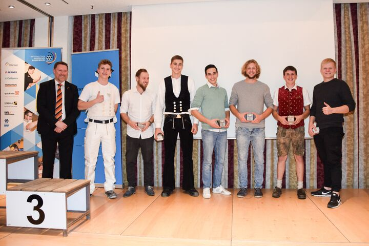 Beim 67. Bundesleistungswettbewerb wurden die Deutschen Meister in sieben Bauberufen gekürt.