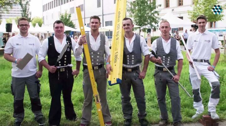 Trainingscamp Nationalteam Deutsches Baugewerbe am TdoT der Bundesregierung 2017