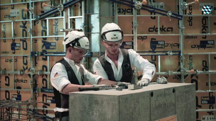 EuroSkills 2018- Wettbewerb der Stahlbetonbauer