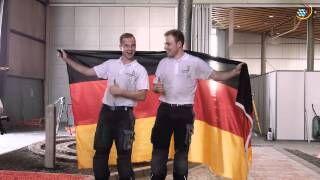 EuroSkills 2014 - Nationalteam Deutsches Baugewerbe