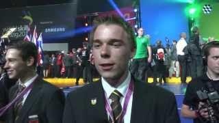 WorldSkills Leipzig - Nationalteam Deutsches Baugewerbe