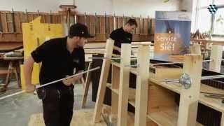 Nationalteam Deutsches Baugewerbe - Abschlusstraining für die WorldSkills in Sao Paulo