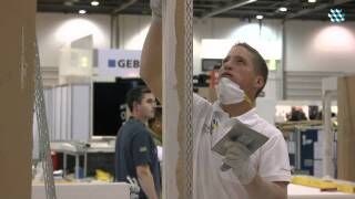 WorldSkills 2011 in London - Stuckateur
