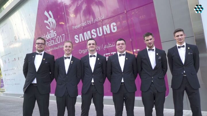 WorldSkills 2017 - Nationalteam Deutsches Baugewerbe