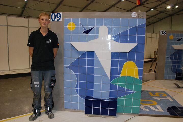 Fliesenleger Tim Welberg belegt Platz 5
