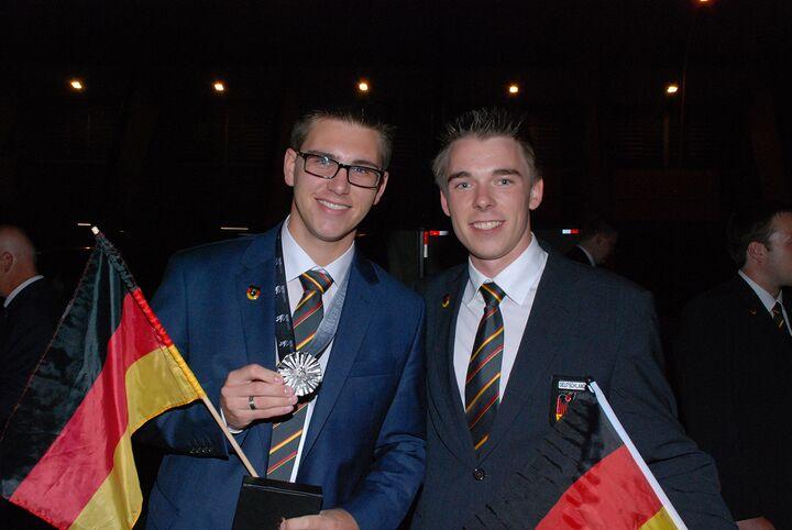 Stuckateur Lukas Prell gewinnt Silbermedaille