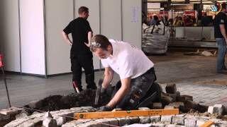 EuroSkills 2014 Wettbewerb der Straßenbauer